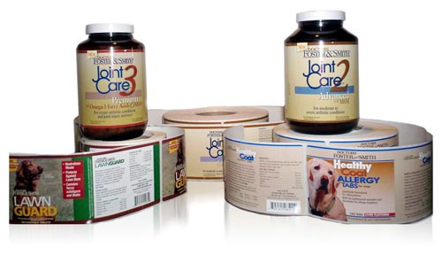 custom pressure sensitive labels display pet product labeling requirements