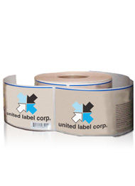 united label logo on Custom Labels
