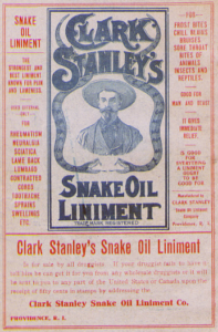 early label for patent medicine