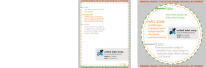 free downloadable templates from united label