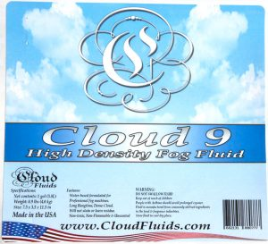 cloud fluid digital label